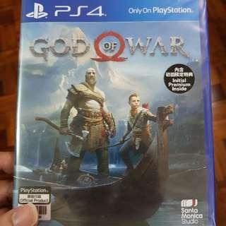 God Of War 4 Ps4 Games