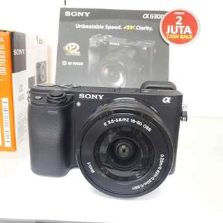 Kamera Sony Alpha 6300 Cash Back 4 juta (Kredit DP 0% MURAH)