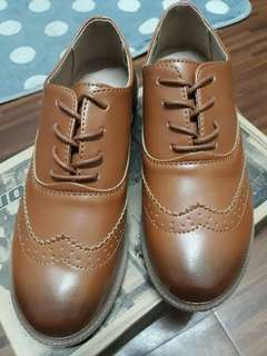 Korean Vintage Oxford Shoes