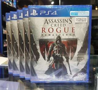 PS4 Game Assassin's Creed Rogue