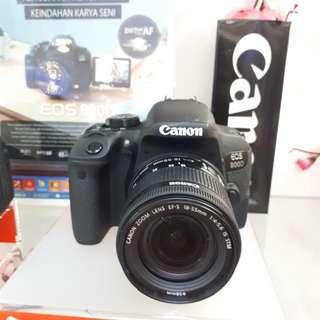 Kamera Canon EOS 800d DSLR (PROMO Bunga 0%)