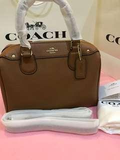 Original coach women Bennett bag crossbody bag Handbag