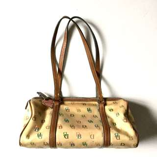 PLOVED: Authentic Dooney and Bourke Barrel Papillon Bag