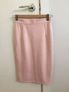 Missguided suede midi skirt BNWT
