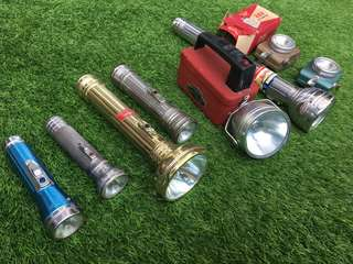 Vintage touch lights