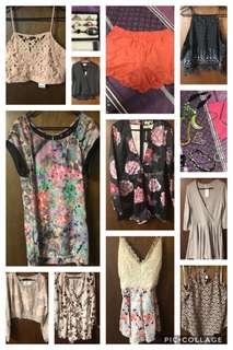 Women's clothes sizes 12/14/L/XL