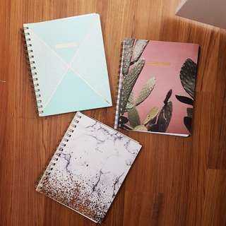 typo a5 aesthetic notebooks
