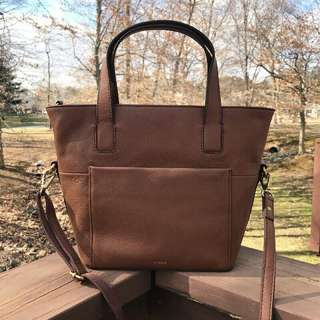 Fossil Darby Med in Brown