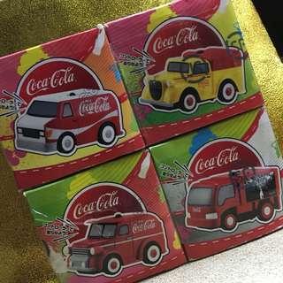 可口可樂 歷年汔水車 - 微型搖控系列全套