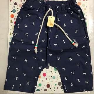 海軍風童褲