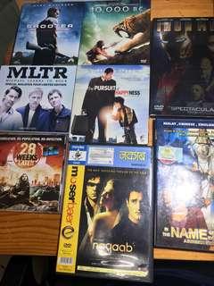 Movie CD's