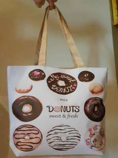 Chocolate Donuts Design Bag