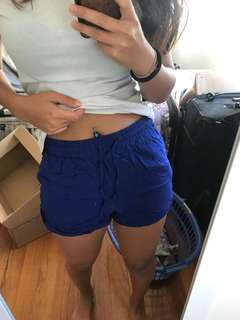Blue Valleygirl Shorts
