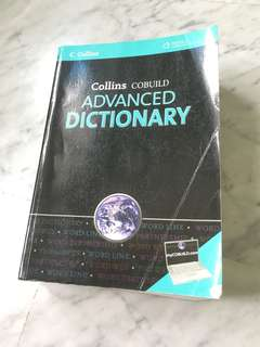 Collins advanced dictionary