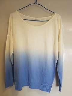 藍白薄線衫