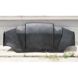 varis rear diffuser for lancer gt / inspira