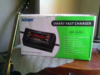 Suoer Motorcycle Smart Fast Charger