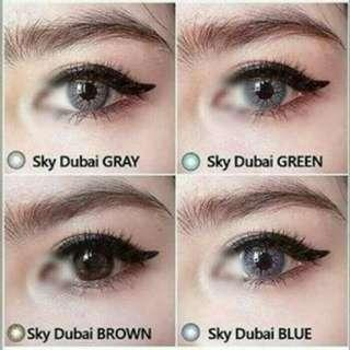 Soflens Sky Dubai Plano Grey Free Cairan