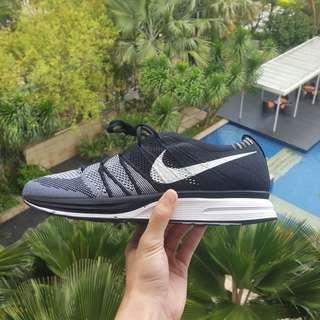 Nike Flyknit Trainer Black White OG