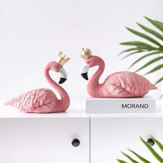 King / Queen / Couple / Flamingo / Decor / Gift