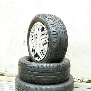 Used 205/55 R16(Sold) Bridgestone (2pcs) 🙋♂️