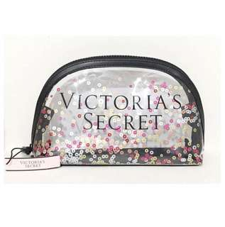 Victoria's Secret Clear Confetti pouch