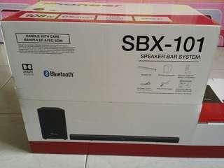Pioneer SBX-101 Speaker Bar System