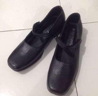 Sepatu kulit, shoes, manding shoes