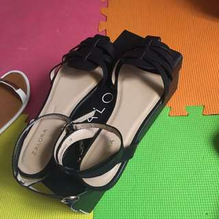 ZALORA OPEN TOE SANDALS