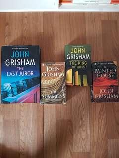 John Grisham x 4 books