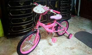 Hello kitty bike for kids