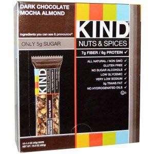KIND Bars, Nuts & Spices, Dark Chocolate Mocha Almond