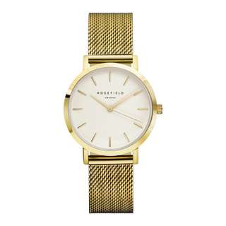 Rosefield - The Tribeca Series (Gold/White/Gold) 33mm