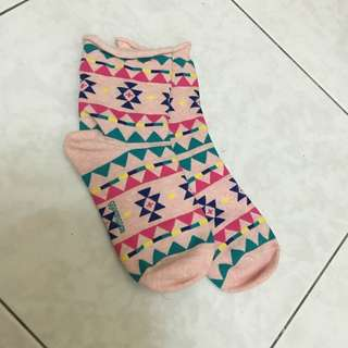 日本帶回 復古風襪子 #五十元好物