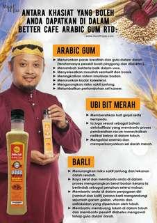 Better cafe arabic gum & Coco munif arabic gum (RTD)