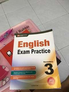 English exam practice sec 3