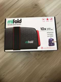 Brand new mifold grab and go booster