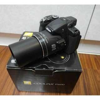 【出售】Nikon P600 超巨砲 類單眼相機 國祥公司貨 盒裝完整
