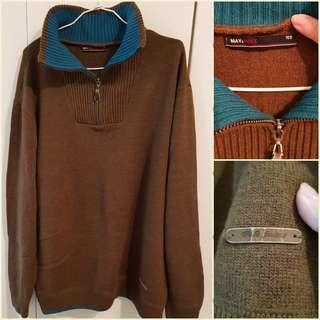 男針織衫(可高領)韓貨,沒穿過(新),已拆封