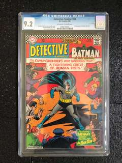 Batman CGC 9.2 comic rare hot toys