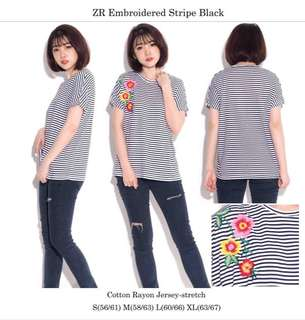 ZARA Embriodery Shirt