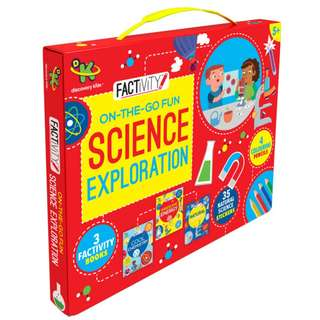 (Brand New) Discovery Kids Factivity On-the-Go Fun Science Exploration