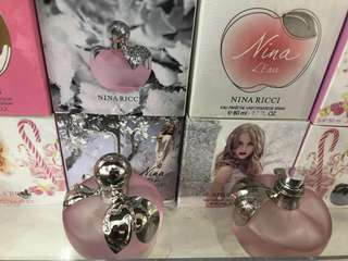 Parfums nina ricci apple original import 80ml (real size)
