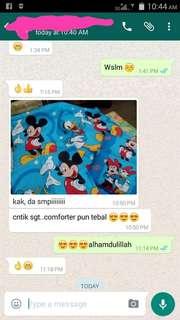 Comforter / tilam baby