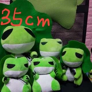 旅行青蛙系列玩偶(五隻)