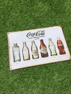 Coca Cola alum sign