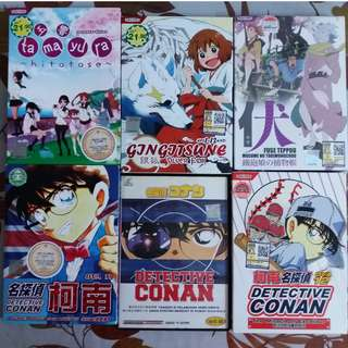 Anime DVD: Detective conan + others