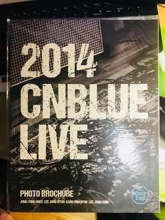 cnblue can't stop 演唱會場刊