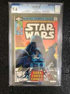 Star Wars comic CGC 9.6 rare hot toys marvel