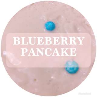 (unscented) Blueberry Pancake Slime | CRYSTALSNOWSLIME
